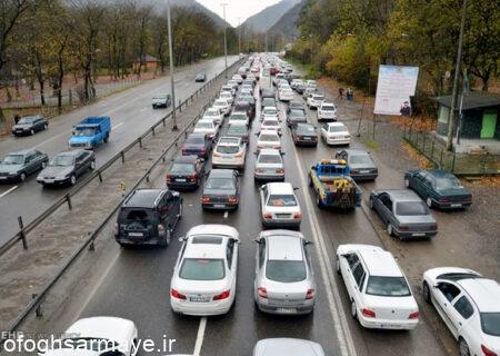 وضعیت ترافیکی معابر بزرگراهی تهران، پنجشنبه چهاردهم مرداد ماه 1400
